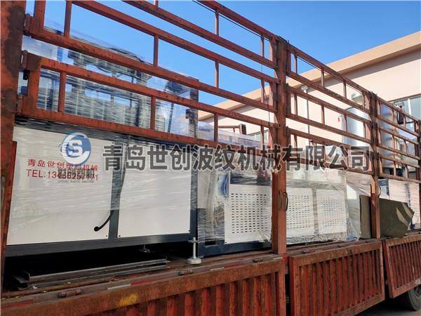 世创预应力波纹管设备发往扬州