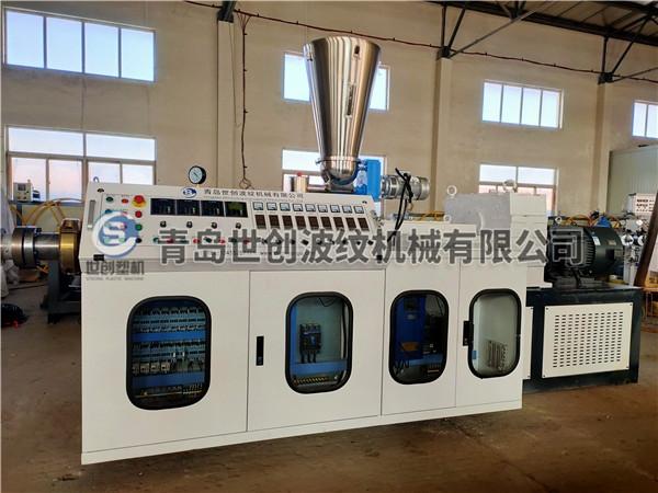 PVC预应力管材设备发往云南