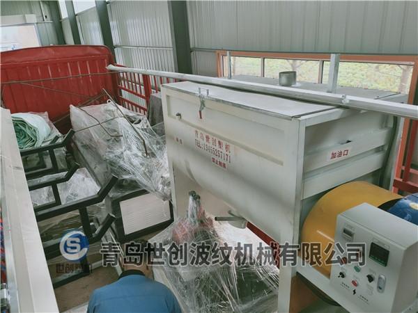 65双螺杆预应力管材设备发往杭州