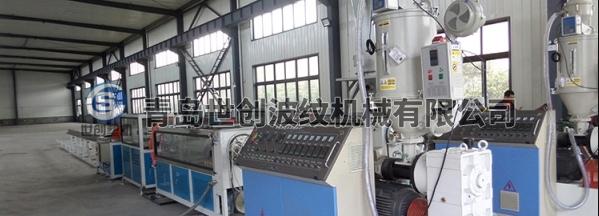 预应力管材生产线集装箱中生产