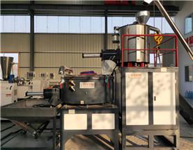PVC异型材生产线